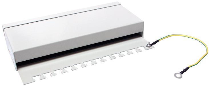 LogiLink Desktop Patch Panel Kat.6, geschirmt, ...