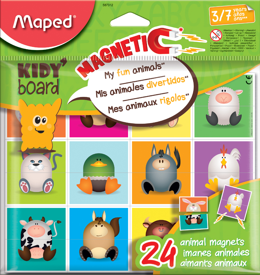 Maped Magnetplättchen KIDY board - My fun Animals