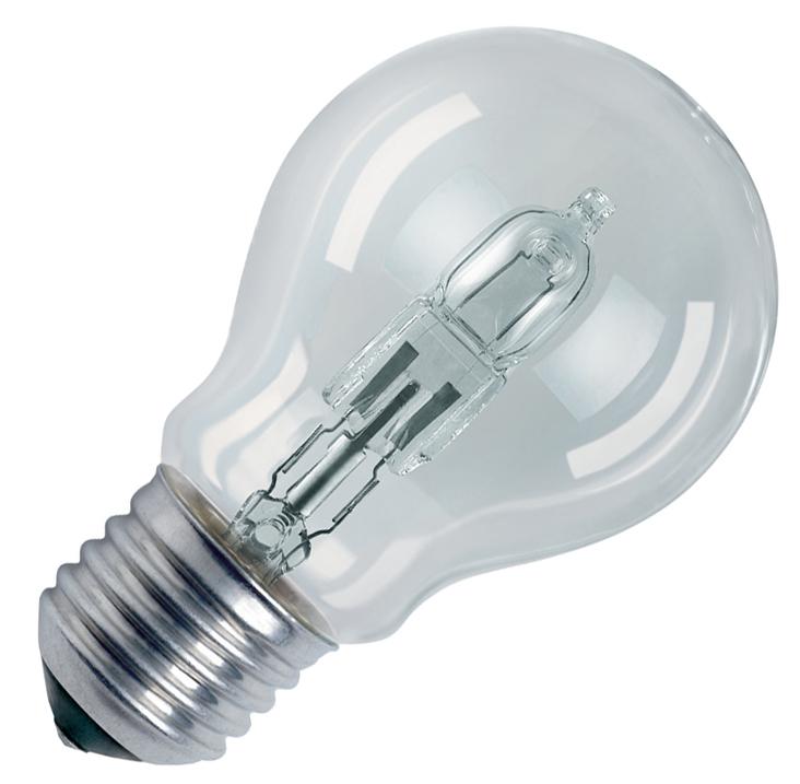 OSRAM Glühlampe HALOGEN CLASSIC A, klar, 46 Watt, E27