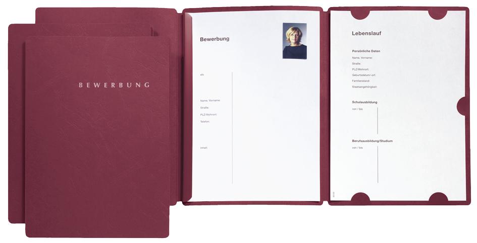 PAGNA Bewerbungs-Set ´Select´, DIN A4, grau