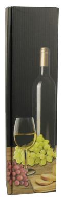 PAPSTAR Wein-Präsentkarton ´Weißwein´, für 1 Fl...