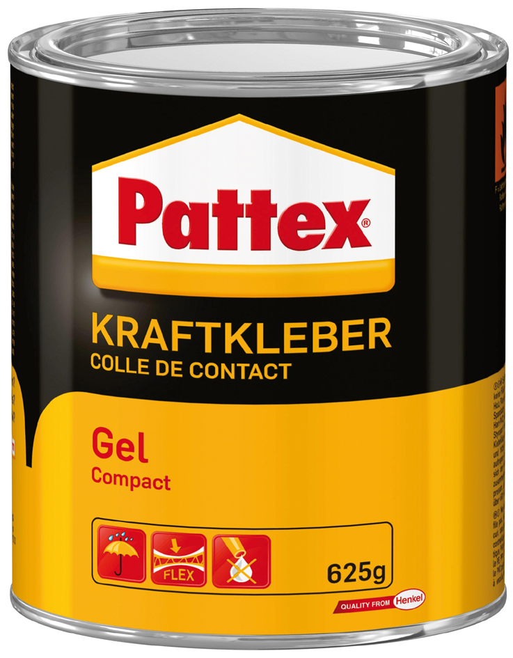 Pattex Compact Gel Kraftkleber, lösemittelhaltig, 625 g Dose