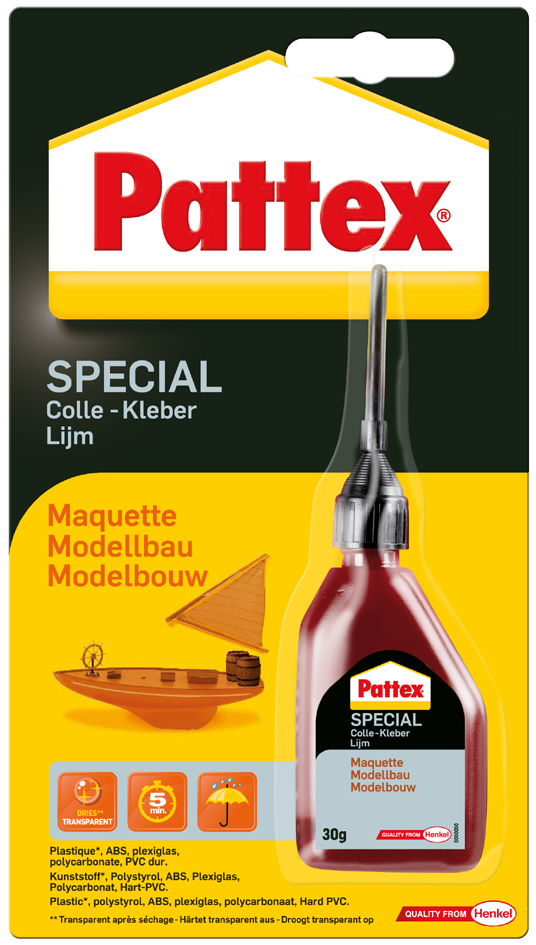 Pattex Spezialkleber Modellbau, 30 g Flasche