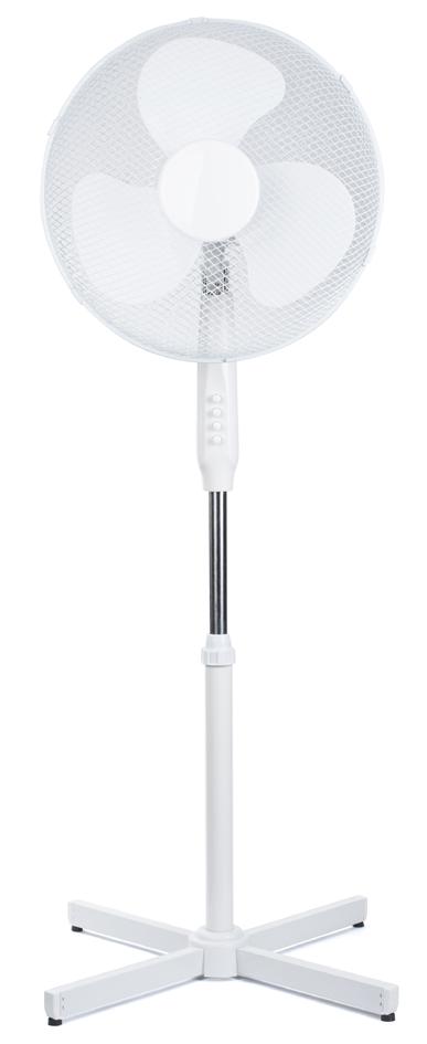pavo Stand-Ventilator, Durchmesser: 400 mm, weiß
