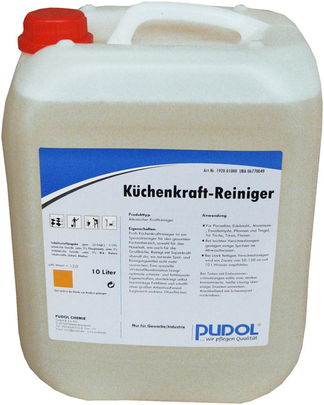 PUDOL Profi-KK-Küchenkraftreiniger CARE, 10 Lit...