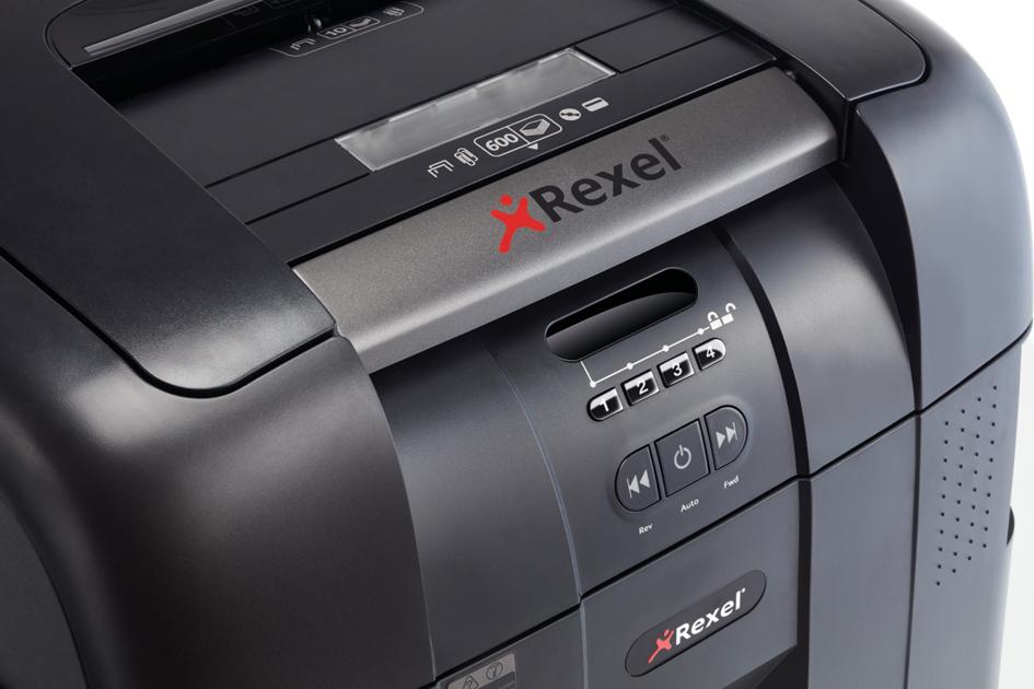 Rexel Aktenvernichter Auto+ 600X, Partikel 4 x ...