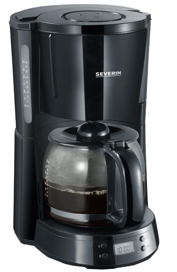 SEVERIN Kaffeemaschine KA 4191 ´SELECT´, mit Timer, schwarz