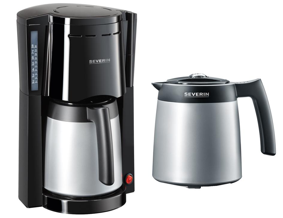 SEVERIN Kaffeemaschine KA 9482, mit 2 Thermokannen, 800 Watt