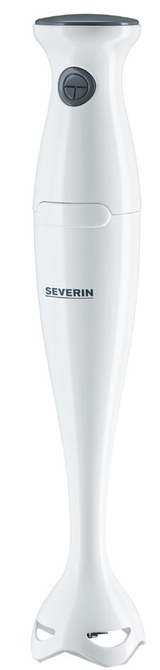 SEVERIN Stabmixer SM 3736, 170 Watt, weiß / grau