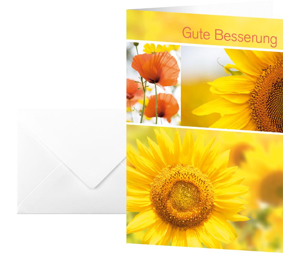 sigel Genesungskarte ´Gute Besserung´, (B)115 x...