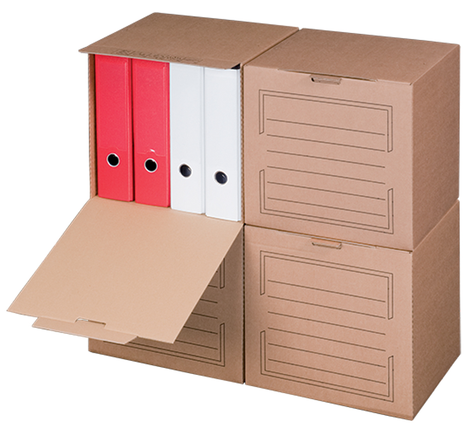 smartboxpro Archiv-Container, mit Frontdeckel, ...