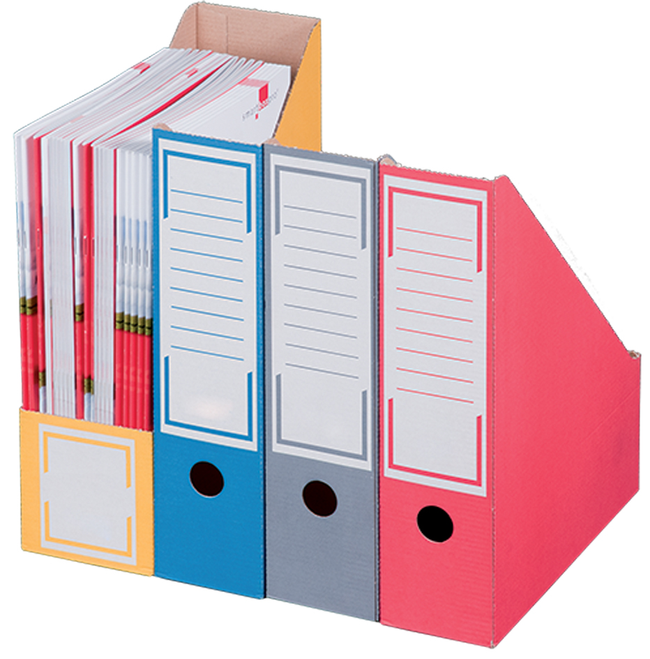 smartboxpro Archiv-Stehsammler, DIN A4, blau, m...