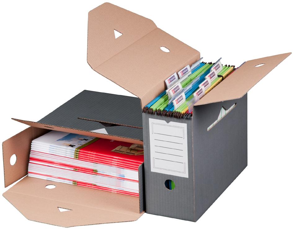 smartboxpro Hängemappen-Archiv, anthrazit, Klei...