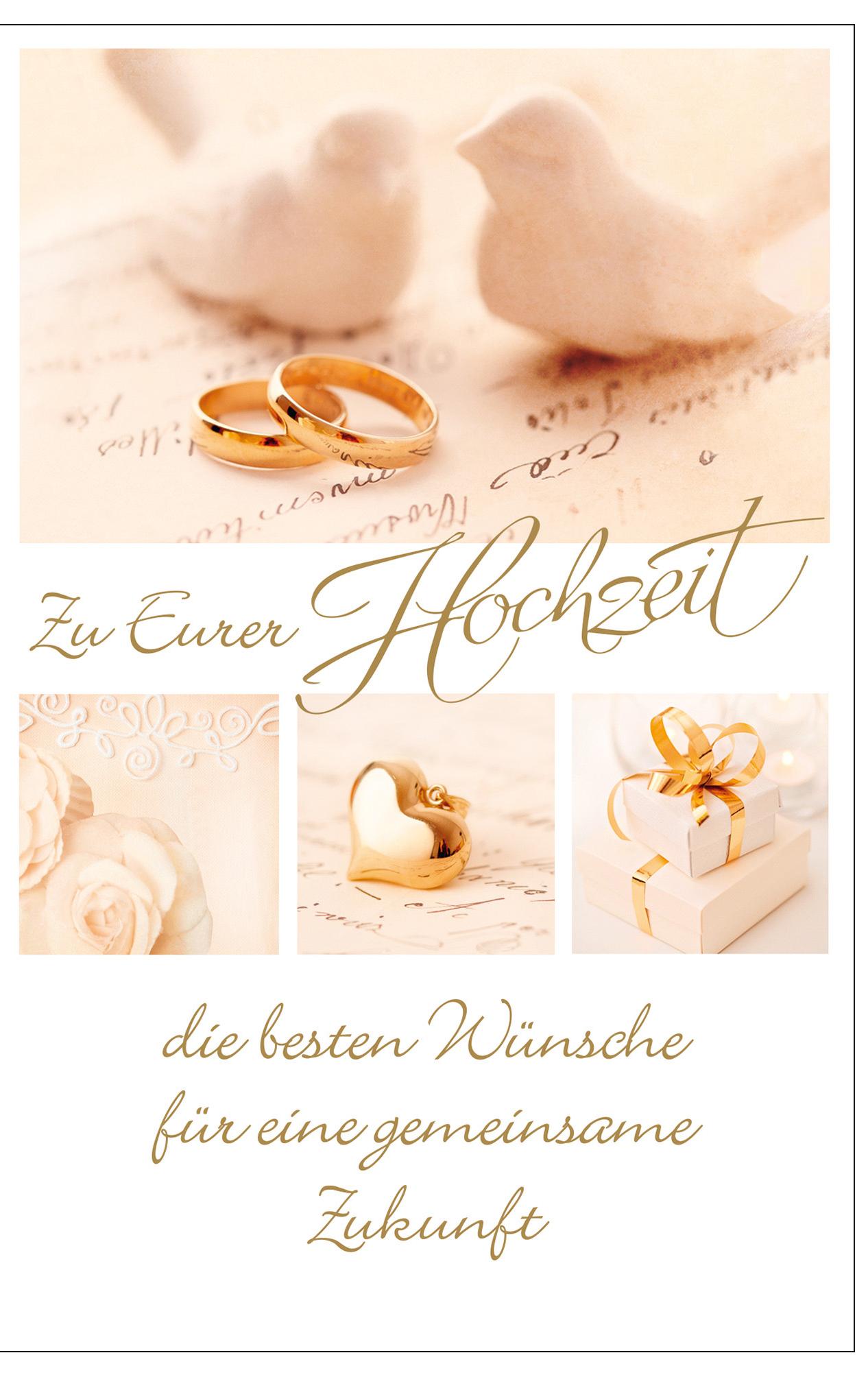 SUSY CARD Hochzeitskarte für Geldschein ´zwei T...