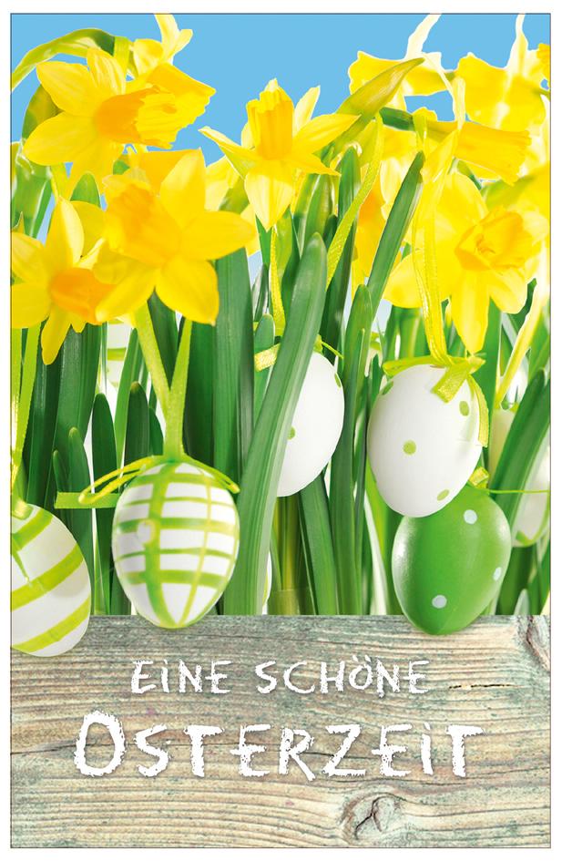 SUSY CARD Oster-Grußkarte ´Osterglocken´