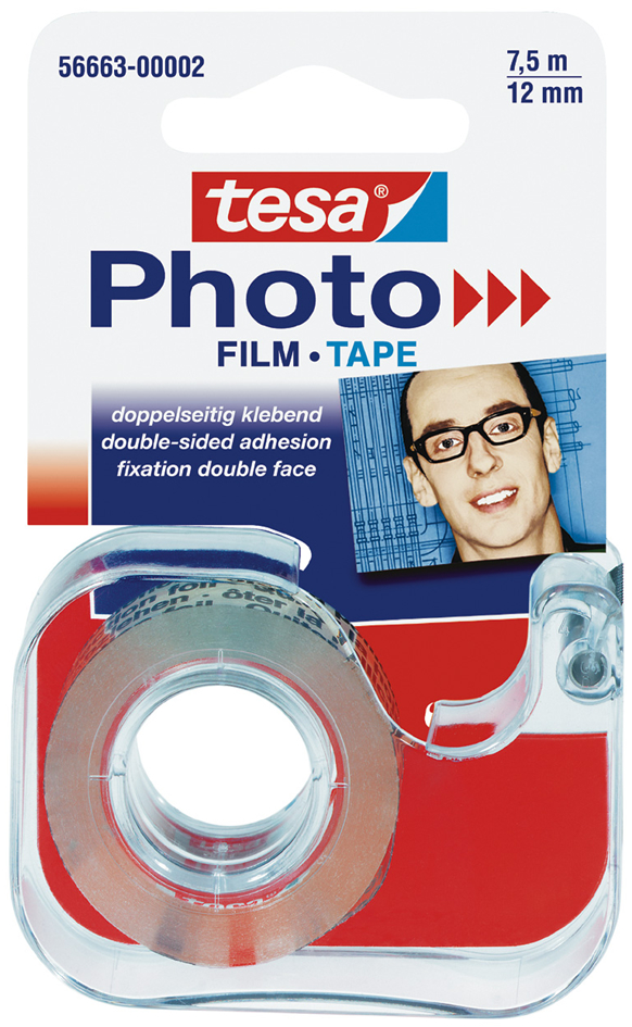 tesa Photo Film Abroller, inkl. Foto Film 12 mm...