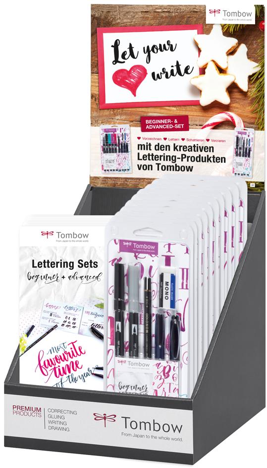 Tombow Handlettering-Set ´beginner´, 6er Set im...