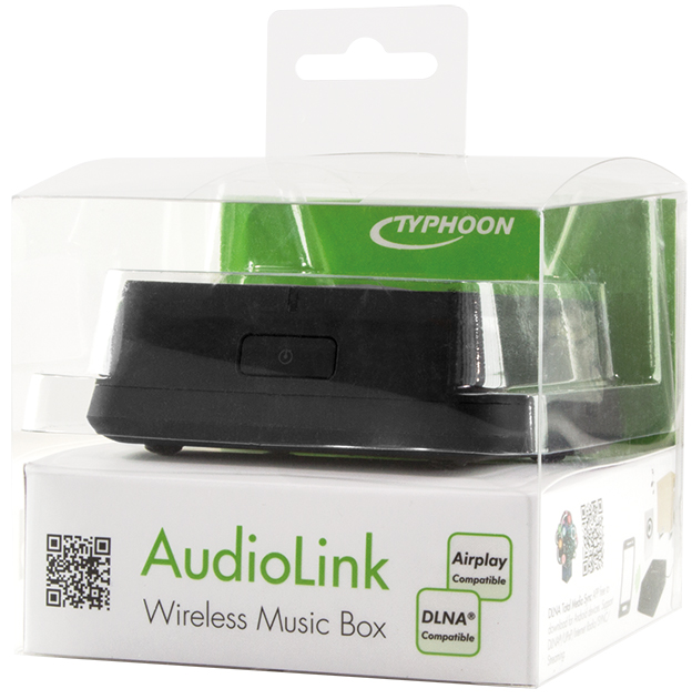 TYPHOON Audiolink Wireless Musik Box, Streaming...