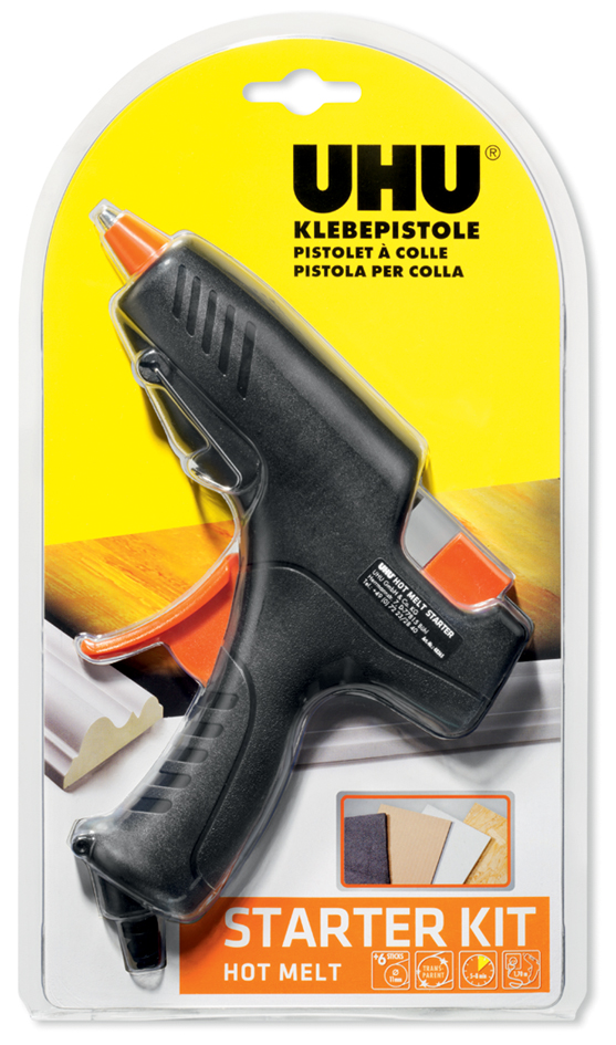 UHU Heißklebepistole Hot Melt Starter Kit