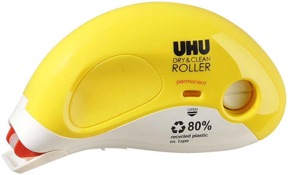 UHU Kleberoller Dry & Clean Roller Refill, perm...