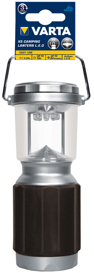 VARTA Campingleuchte ´XS Camping Lantern LED 4AA´
