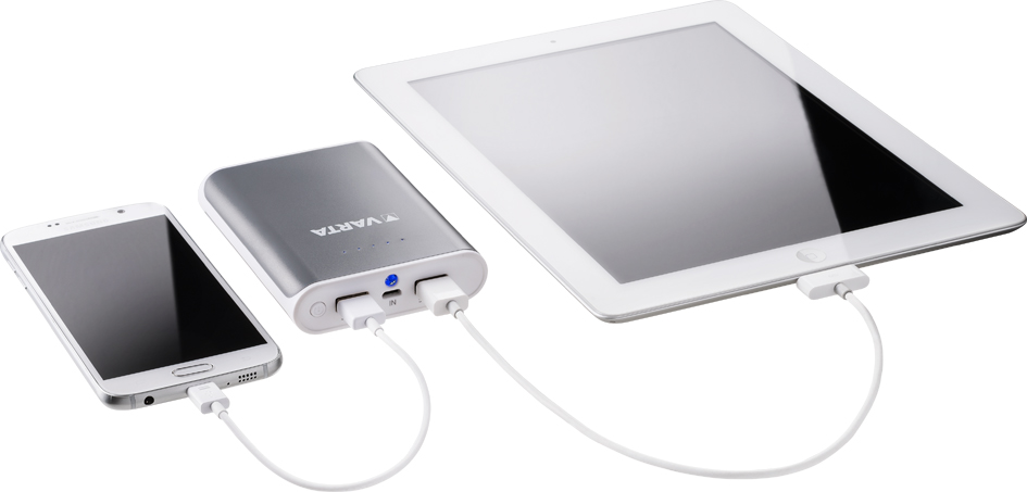 VARTA Mobiler Zusatzakku ´Powerpack 10400´, 2 x USB