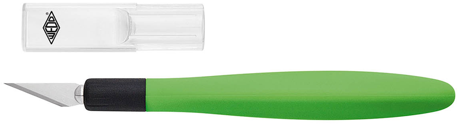 WEDO Skalpell Comfortline, Länge: 150 mm, apfel...