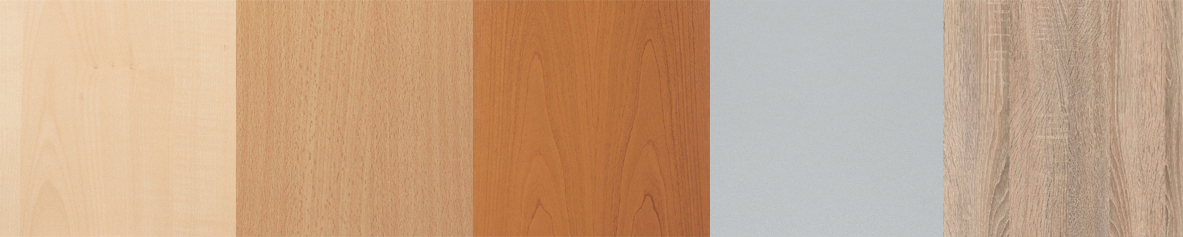 Wellemöbel Regal ´BÜRO COMBI+ 2´, 5 Böden, (B)800 mm, Ahorn-