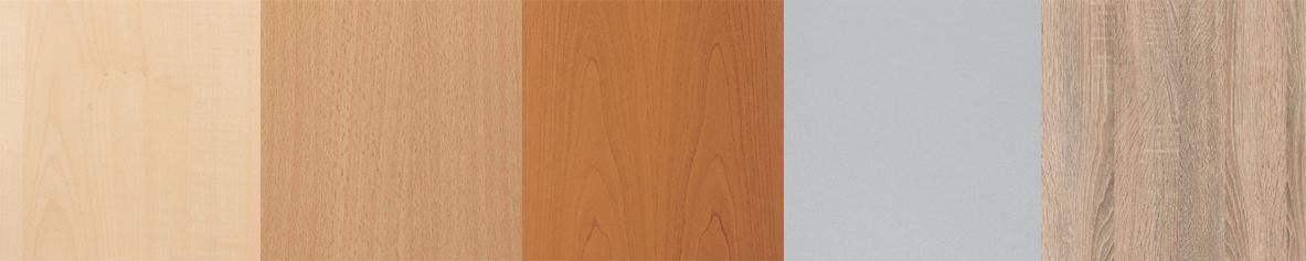 Wellemöbel Regal ´BÜRO COMBI+ 3´, 2 Böden, (B)800 mm, grau