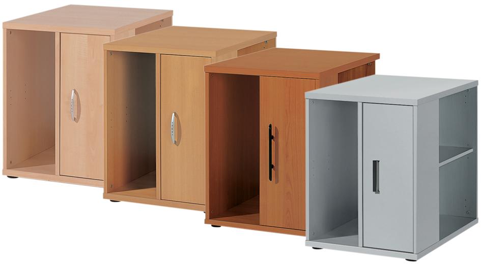 Wellemöbel Standcontainer ´BÜRO COMBI+ 3´, Office grau