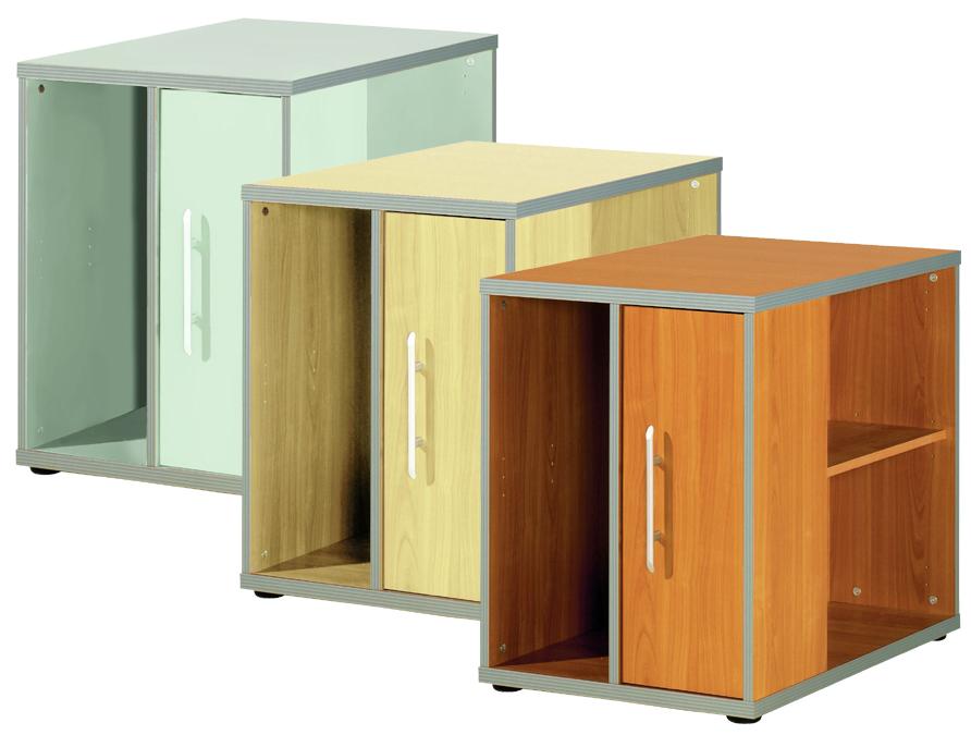 Wellemöbel Standcontainer ´TOOL´, Buche-Nachbildung