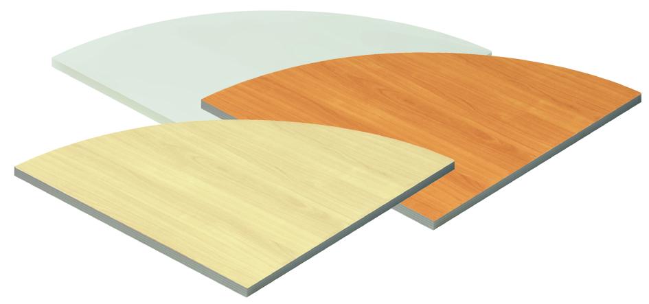 Wellemöbel Verkettungsplatte ´TOOL´, Buche-Nachbildung