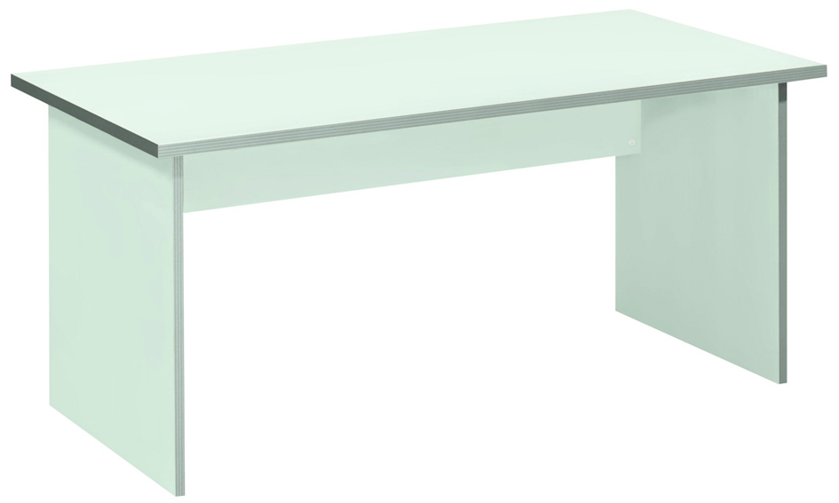 Wellemöbel Wangen-Schreibtisch ´TOOL´, (B)800 mm, grau