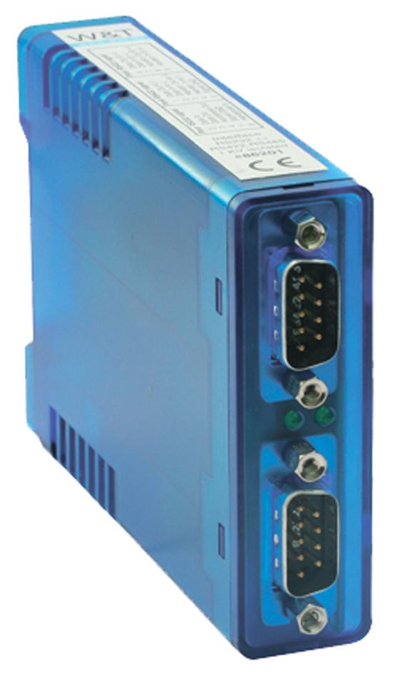 W&T Interface Konverter RS232 - 20 mA, 1 KV iso...