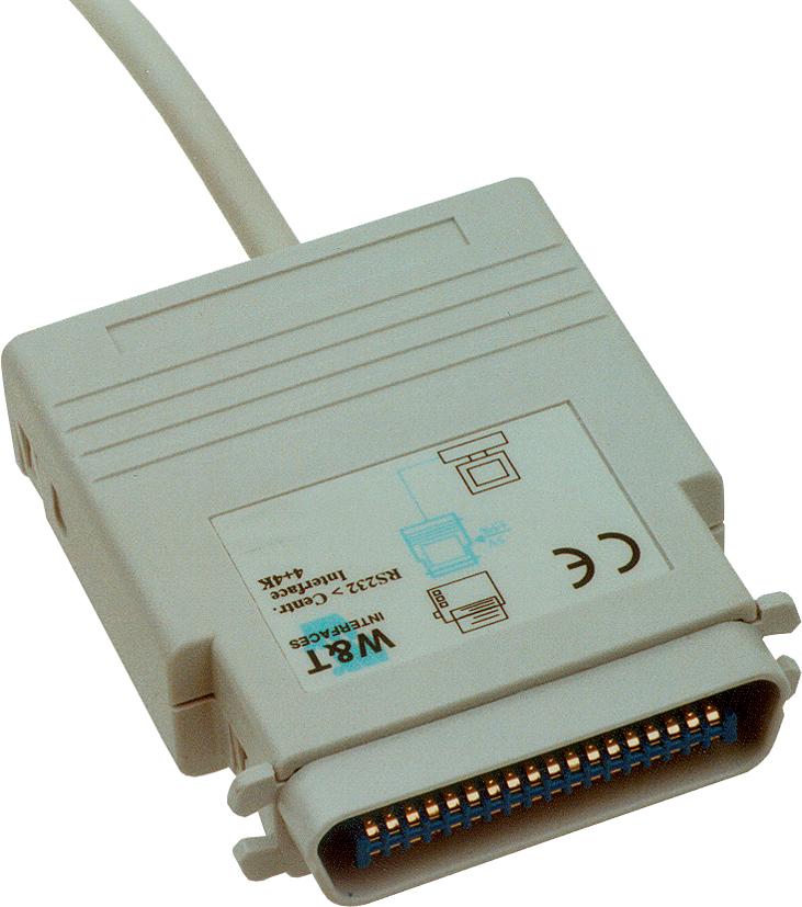 W&T Interface Konverter RS232 - Centronics, 5 K...