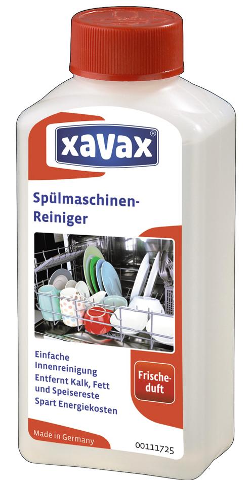 xavax Spülmaschinen-Reiniger, Inhalt: 250 ml