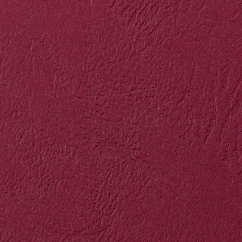 rot DIN A4 250 g//qm GBC Einbanddeckel LeatherGrain