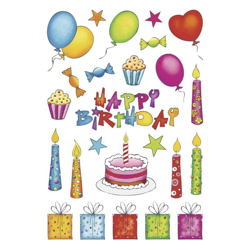 HERMA Sticker DECOR Happy Birthday 3408
