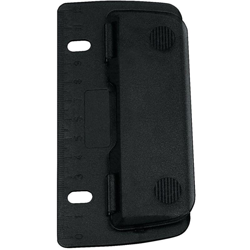 3 Blatt schwarz WEDO Taschenlocher Stanzleistung