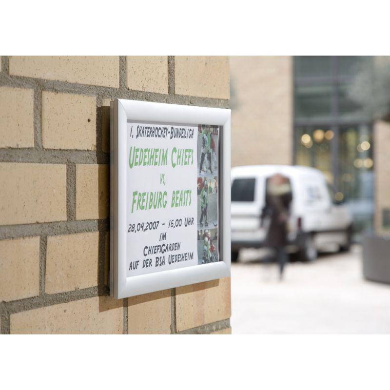 FRANKEN Plakatrahmen \'Outdoor\', DIN A1, 25 mm Rahmenprofil (BS1704)