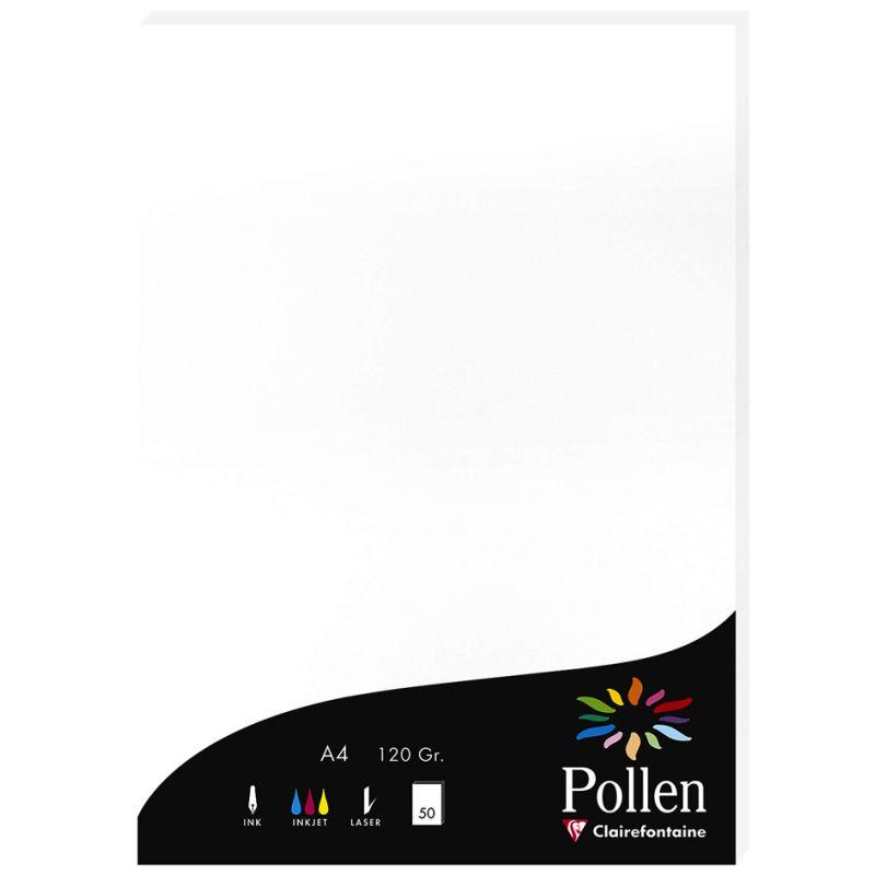 Pollen by Clairefontaine Papier DIN A4 120 g//qm clementine 50 Blatt