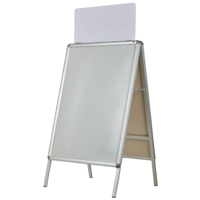 nobo Ersatzfolie A1 für NOBO Plakatständer A1 PVC 2 Stück