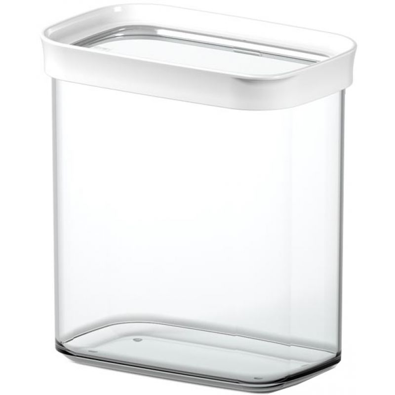emsa trockenvorratsdose optima 2 8 liter transparent wei 515007. Black Bedroom Furniture Sets. Home Design Ideas