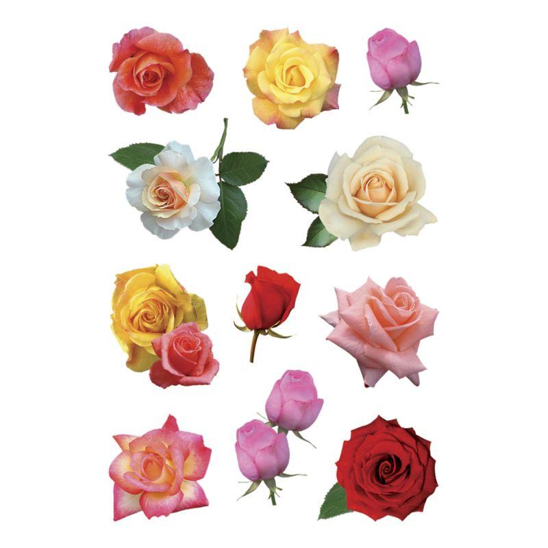 HERMA Sticker DECOR \'Rosenblüten bunt\' (3308)