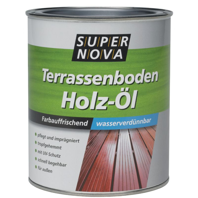 Super Nova Terrassenboden Holz Ol 750 Ml Bangkirai