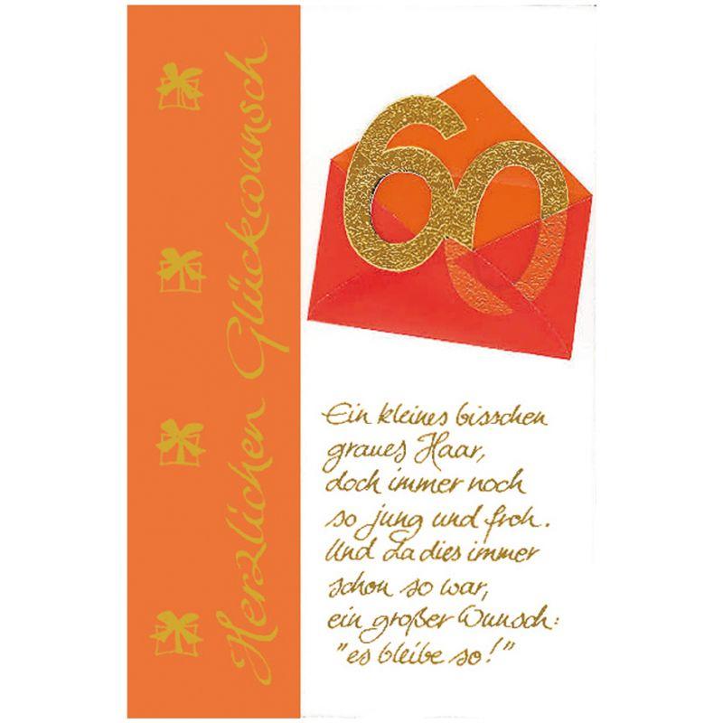 Susy Card Geburtstagskarte 50 Geburtstag Briefumschlag