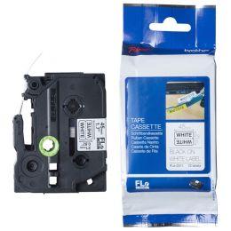 brother FLe-7511 Schriftbandkassette, schwarz / grün