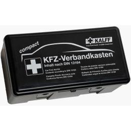 KALFF KFZ-Verbandkasten Kompakt, Inhalt DIN 13164, schwarz