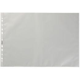 HETZEL Prospekthülle Standard, A3 quer, PP, genarbt, 0,08 mm