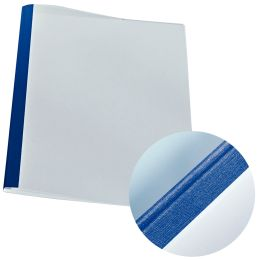 LEITZ Thermobindemappe Leinenoptik, DIN A4, 1,5 mm, blau